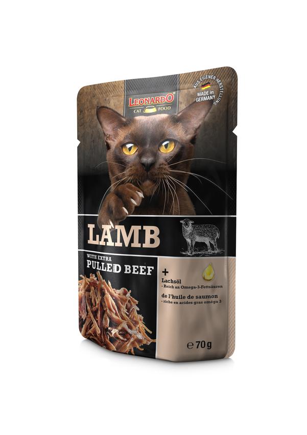 LEONARDO® Lamb + extra pulled Beef, 16x70g