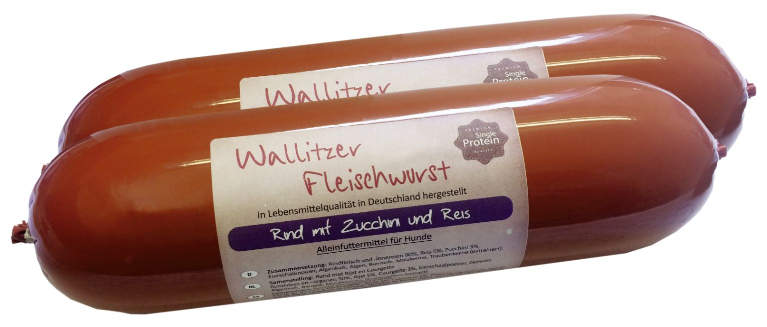 Wallitzer Super Premium Wurst - Single Protein