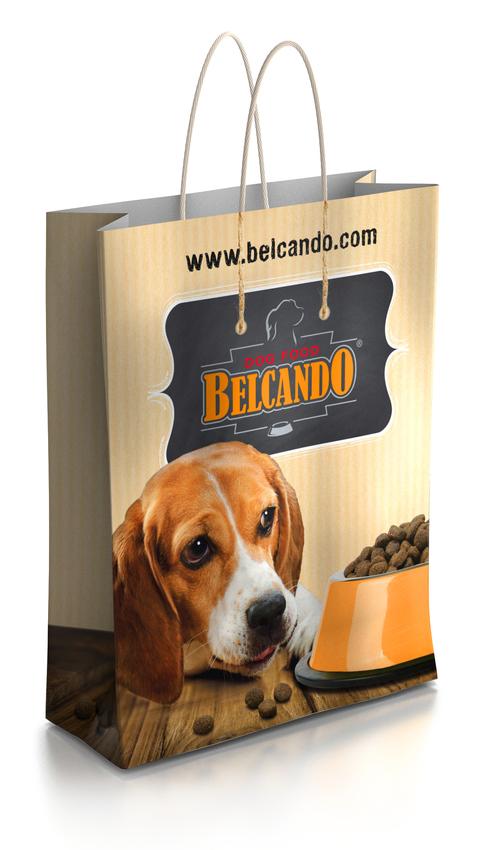 BELCANDO®/LEONARDO® Papier-Tragetasche