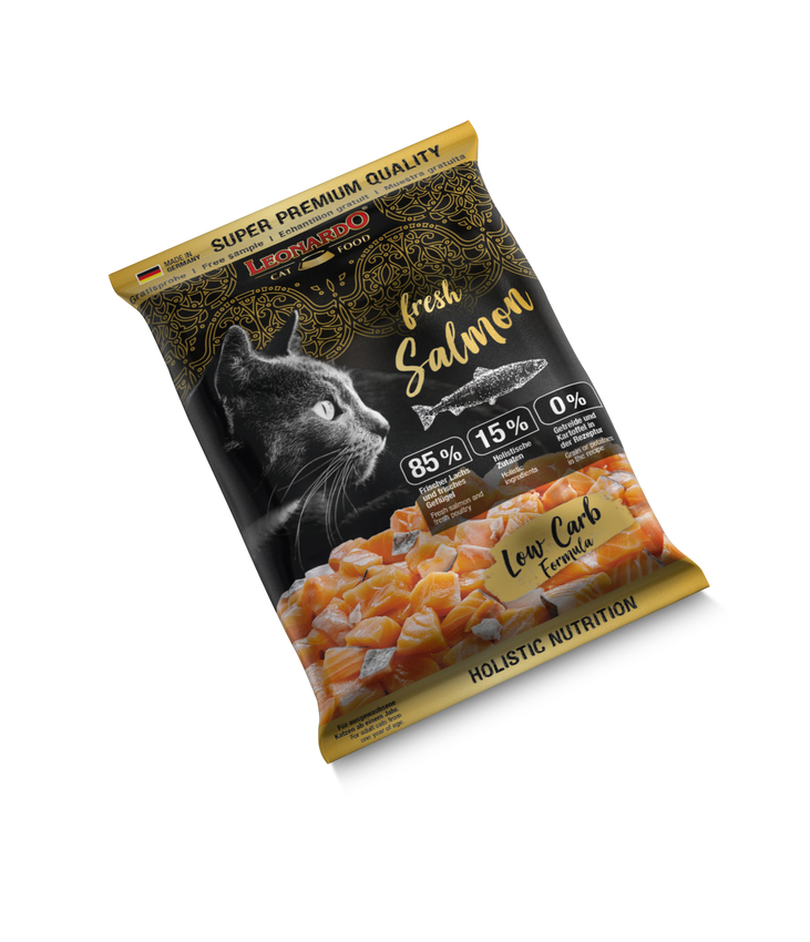 Probe LEONARDO® fresh Salmon & Poultry (10x50g)