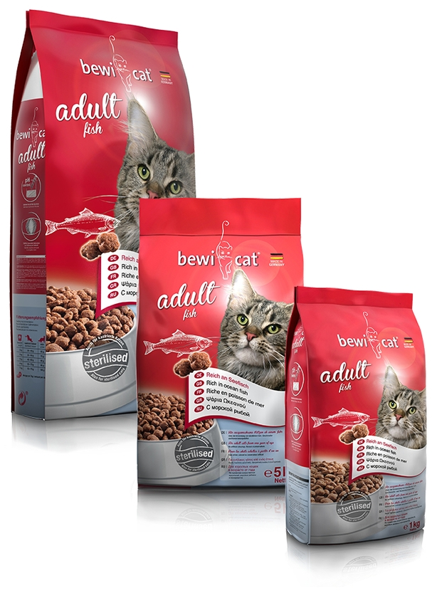 BEWI-CAT® Adult Fish - NEU -