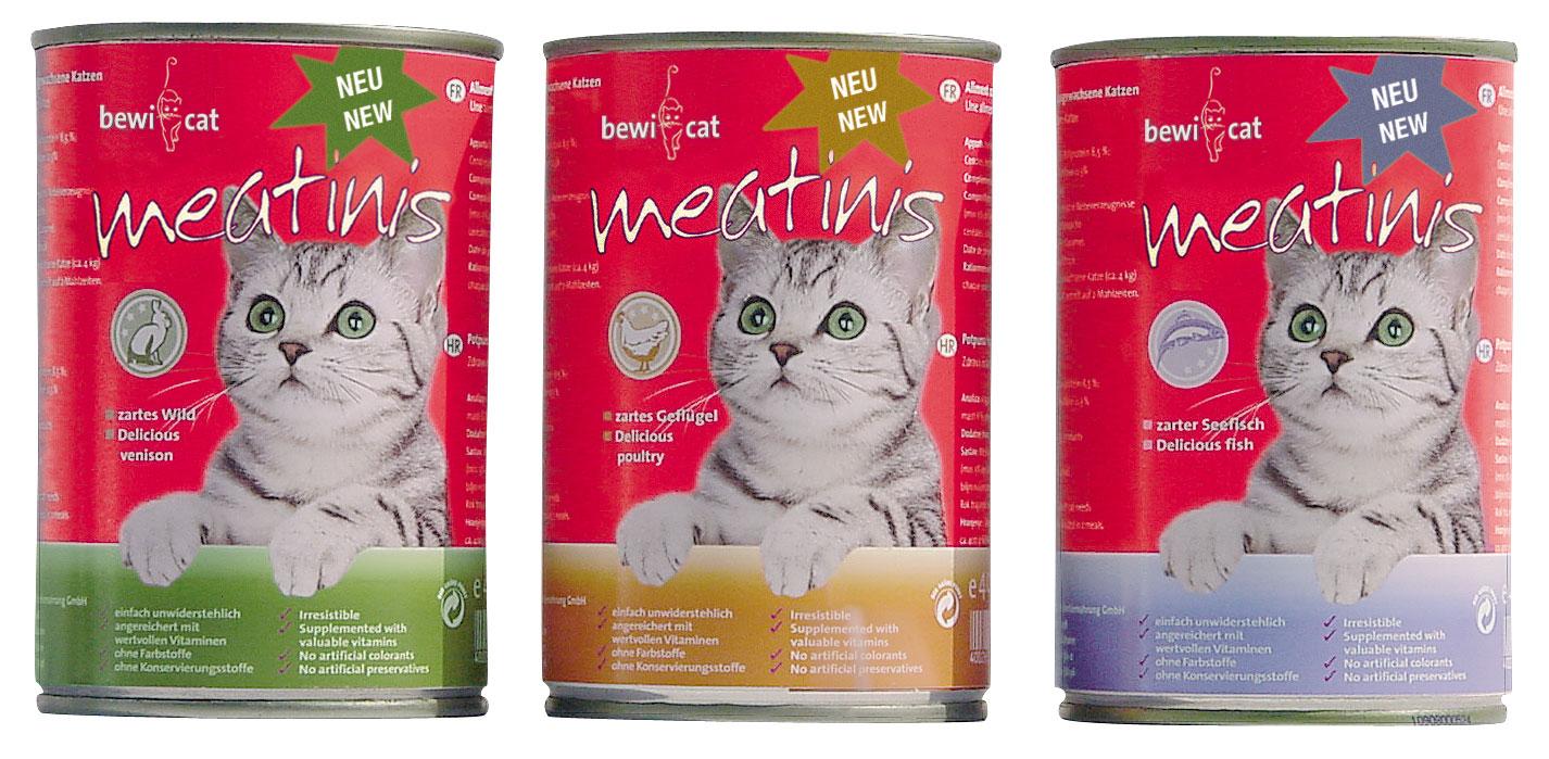 BEWI-CAT® meatinis, 400g