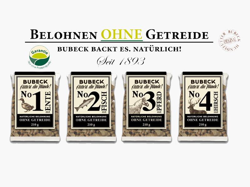 Bubeck No 1-4, getreidefrei - Abverkauf
