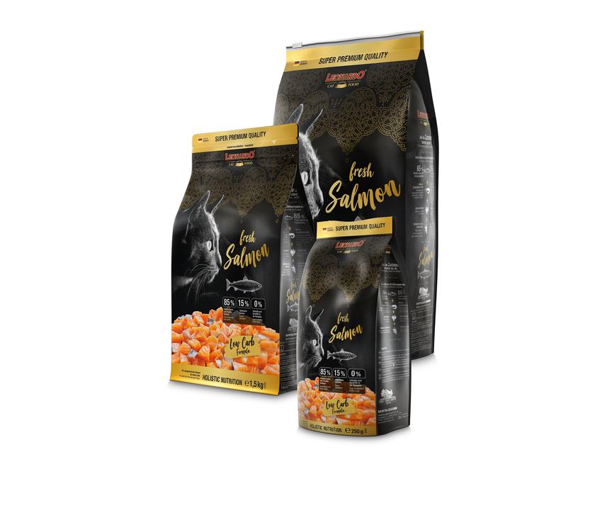LEONARDO® fresh Salmon & Poultry