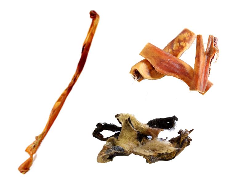 Rinderkopfhaut /-stangen /-platten /-stücke