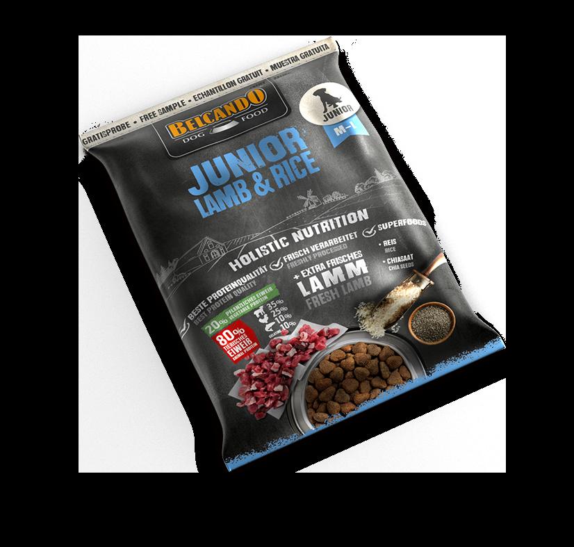 Probe BELCANDO® Junior Lamb & Rice (10x70g)